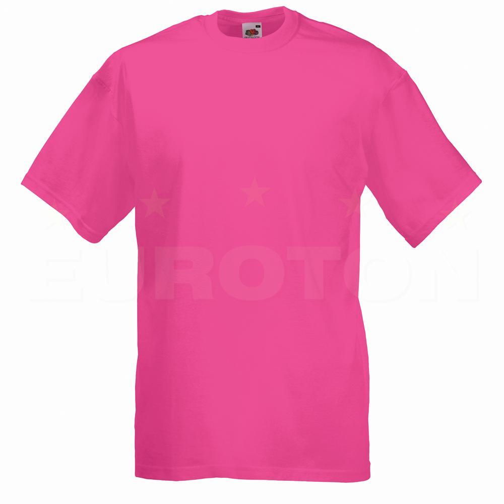 value weight t-majica kratek rokav lila
