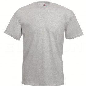 value weight t-majica kratek rokav lisasto siva