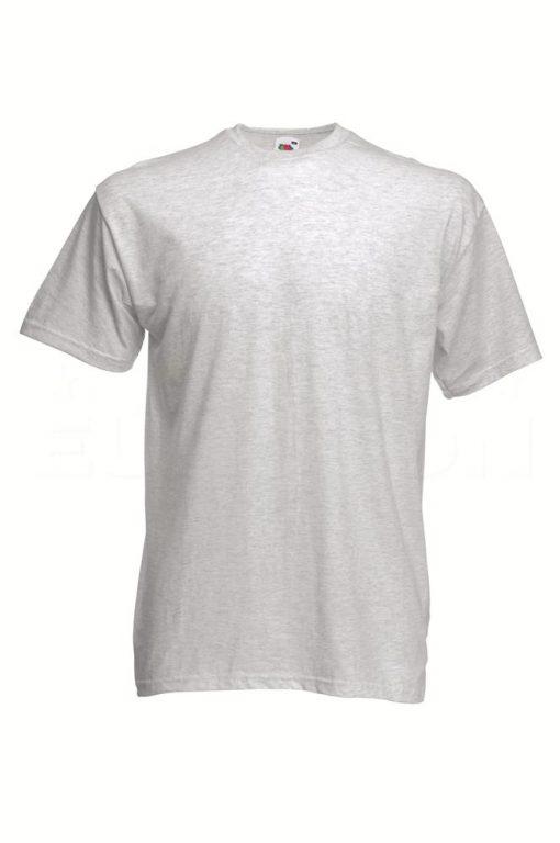 value weight t-majica kratek rokav pepelna