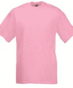 value weight t-majica kratek rokav roza